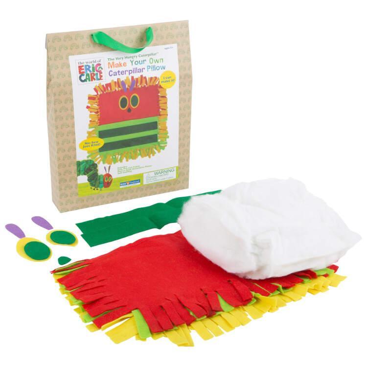 Set Bricolage per bambini Cuscino Bruco Maisazio