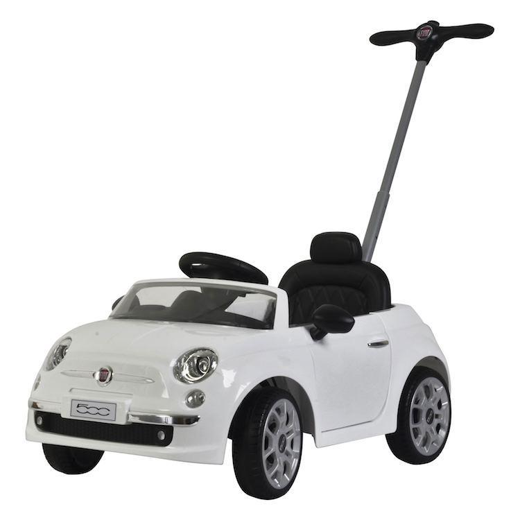 7872e2d6b0 Triciclo da spingere per bambini Push Car Fiat 500 Bianca