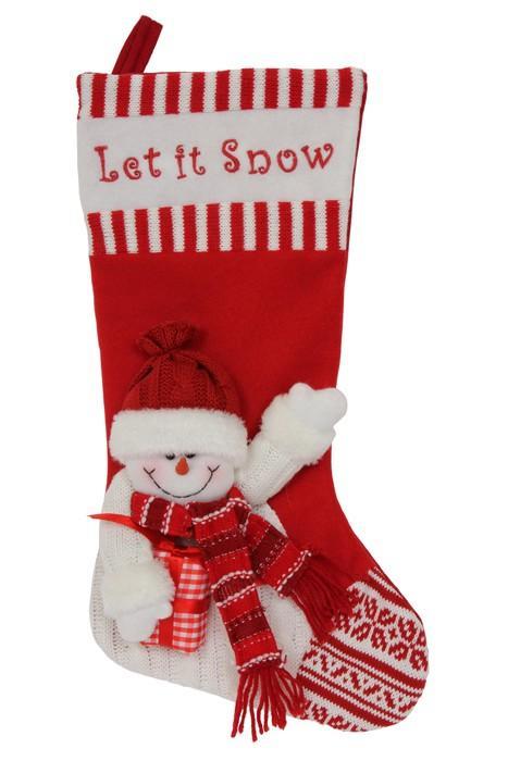 Stivali in tessuto decorazione ed addobbo per Natale