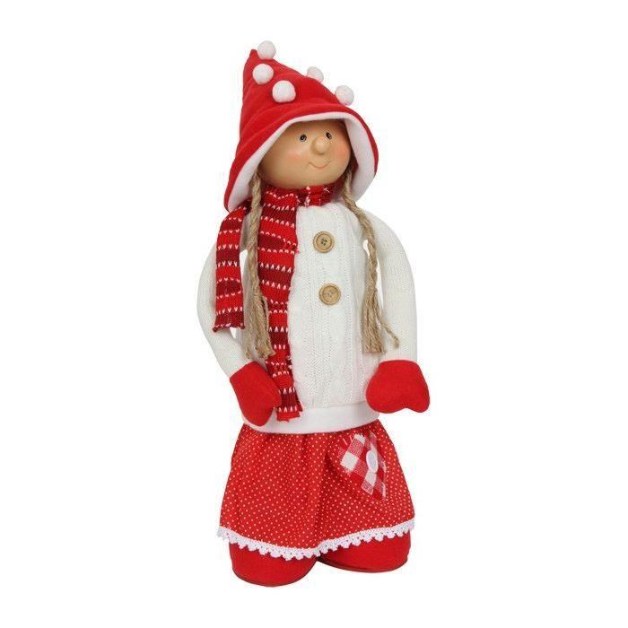 Bambola decorativa in tessuto  per Natale