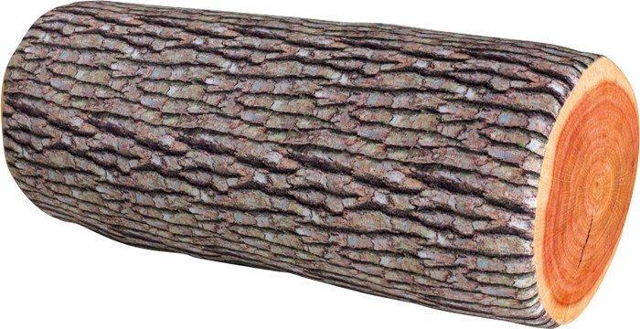 Rullo cuscino cervicale forma di tronco albero morbido arredo divano casa