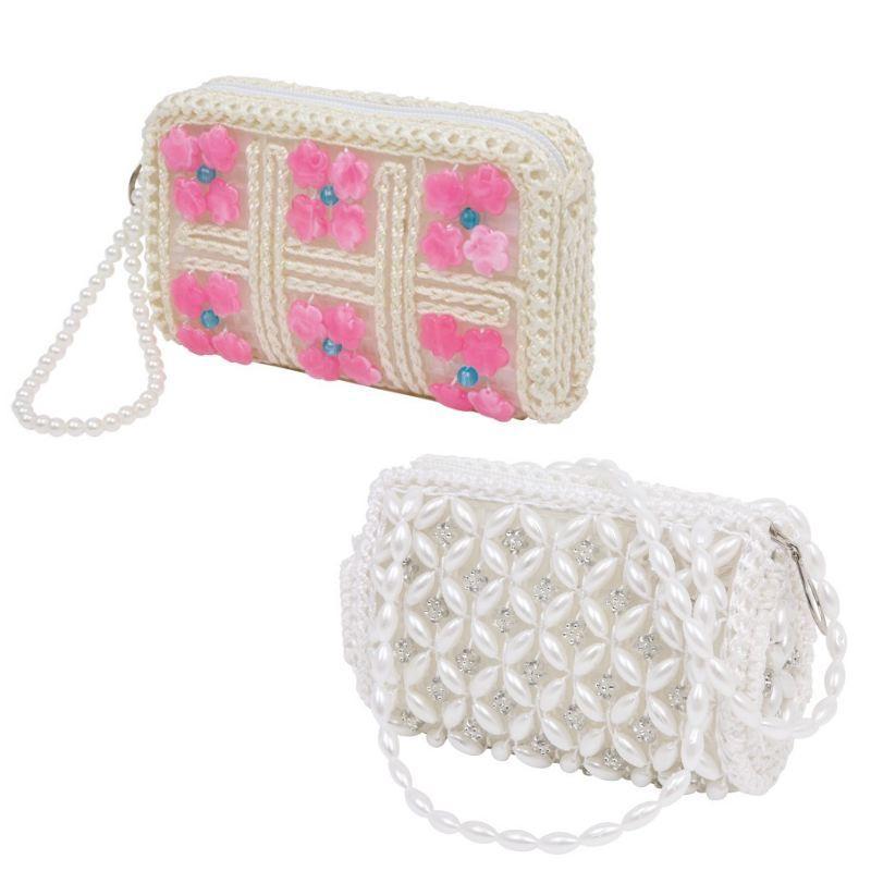 Set 2 borse brillanti per piccole principesse