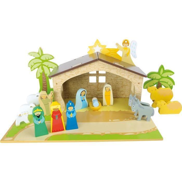 Set giochi Presepe  in legno per bambini Natale