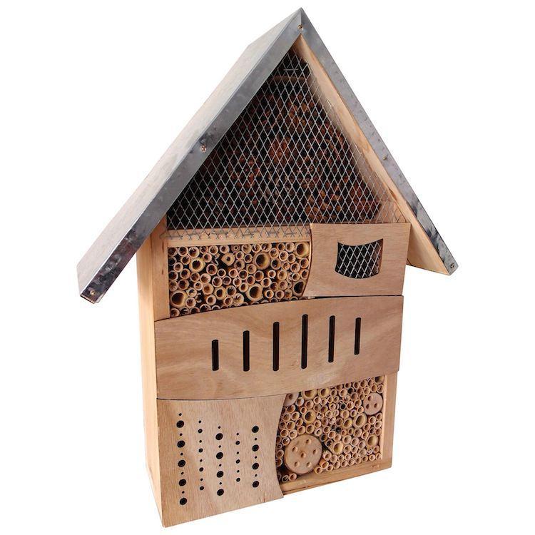 Casa degli insetti in legno Viaggio intorno al mondo