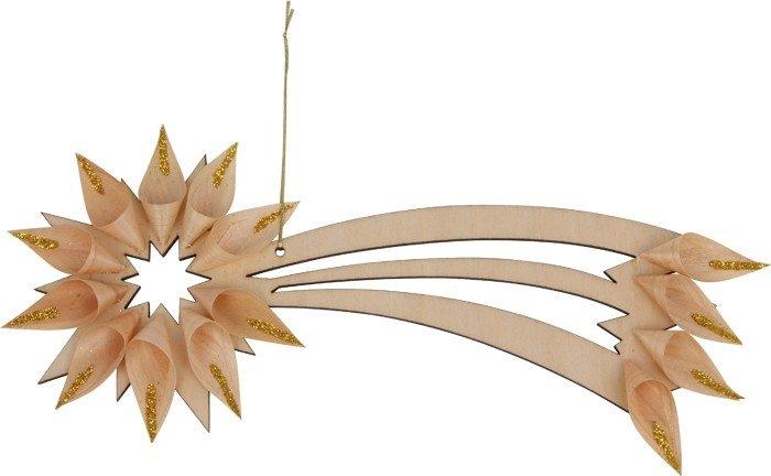 Pendaglio in legno da appendere set da 3 Decorazione natalizia