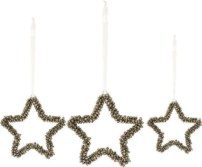 Pendagli con suoni a forma di stella Addobbo musicale per Natale