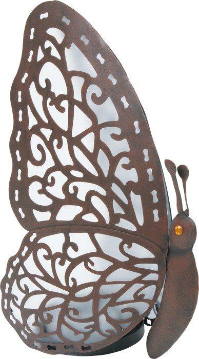 Lampada da tavolo Farfalla in metallo