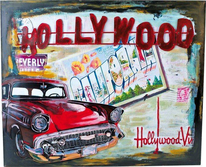 Quadro latta Hollywood stile nostalgico Arredo casa ufficio