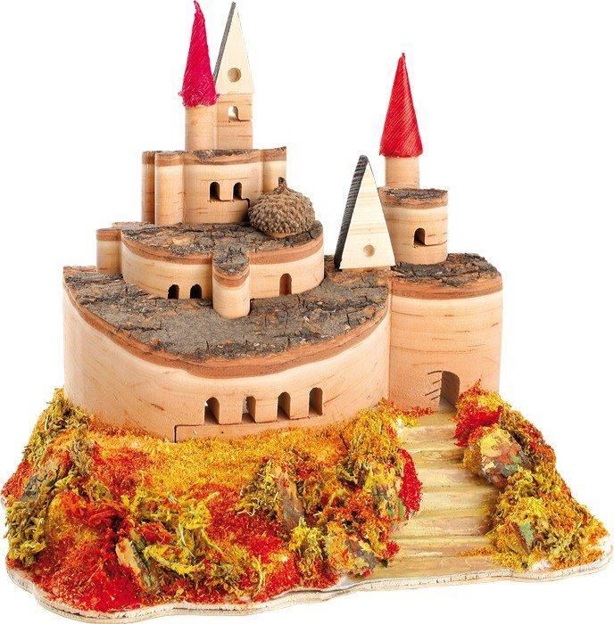 Castello 3D in legno Giardino Reale Decorazione arredo casa