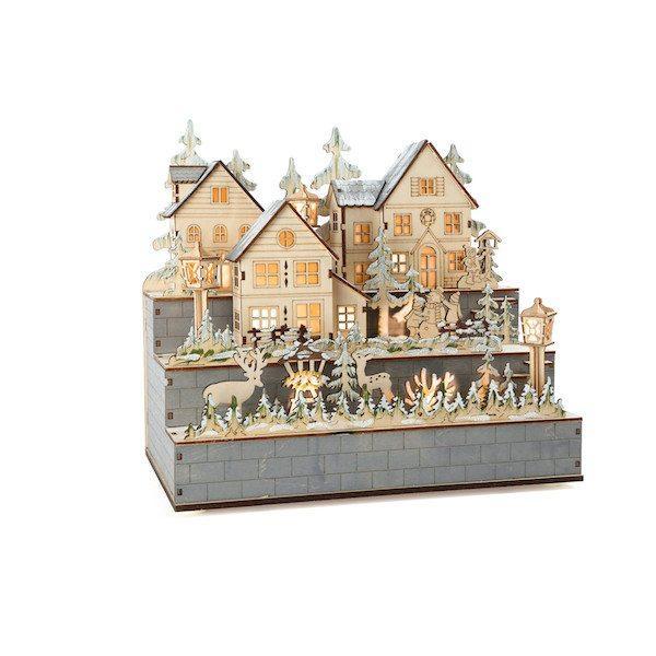 Lampada borgo invernale  Legler 10216