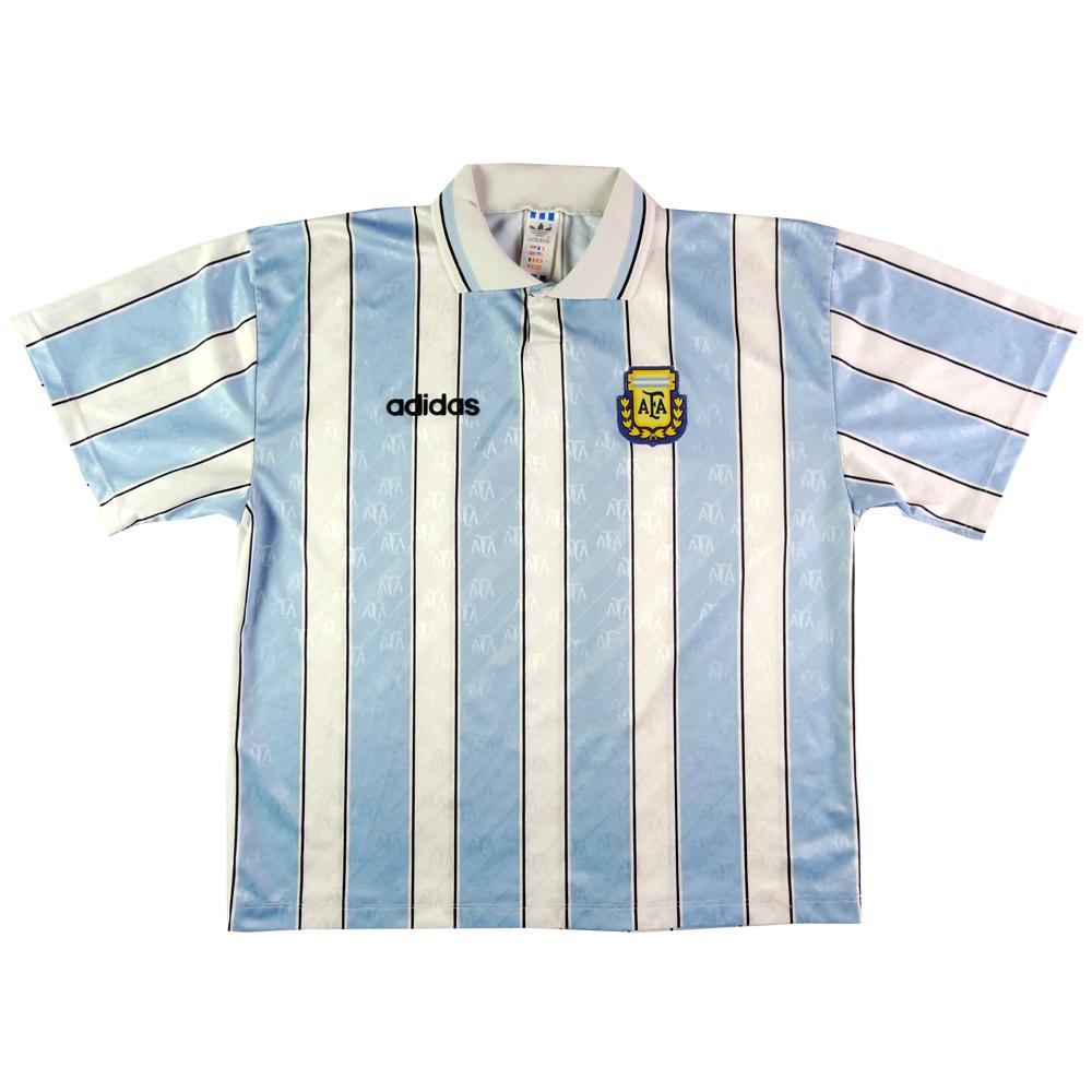 1996-97 Argentina Maglia Home XL