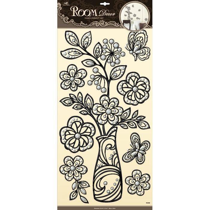 Adesivi decorazioni Flora arredo cameretta e mobili casa bambini