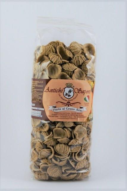 Orecchiette al grano arso - Orecchiette Senatore Cappelli al grano arso -  con farina di semola 273bec2a38c9