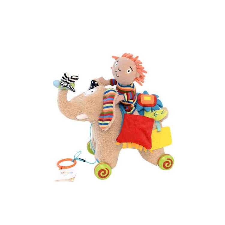 Peluche Elefante trainabile Dolce Toys