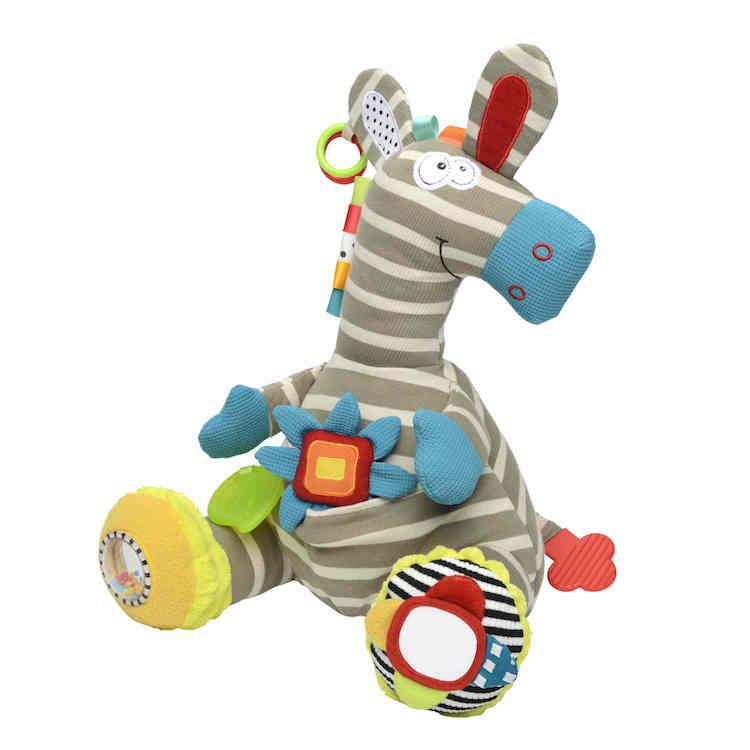 Peluche Zebra multiattività Dolce Toys