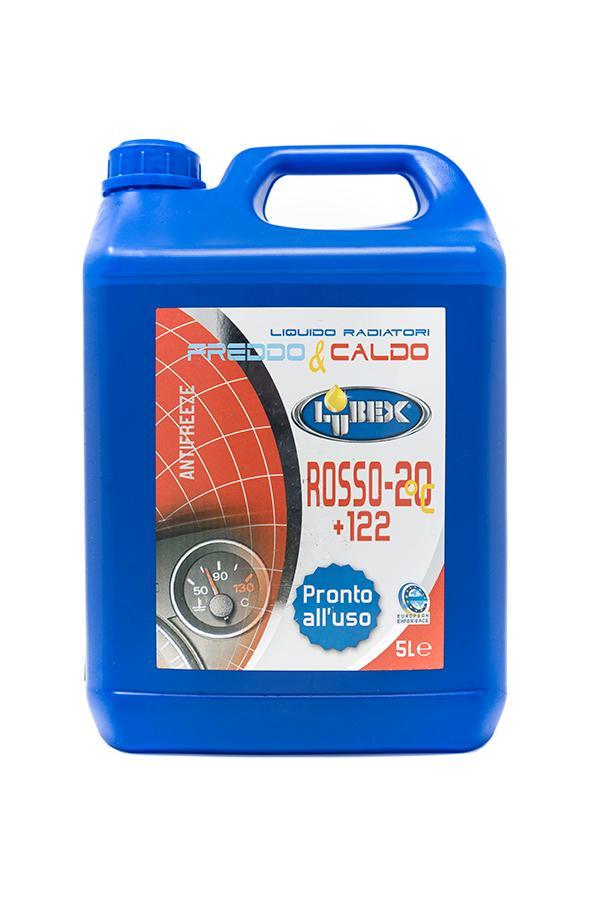 Liquido Rosso Lubex 5 Lt