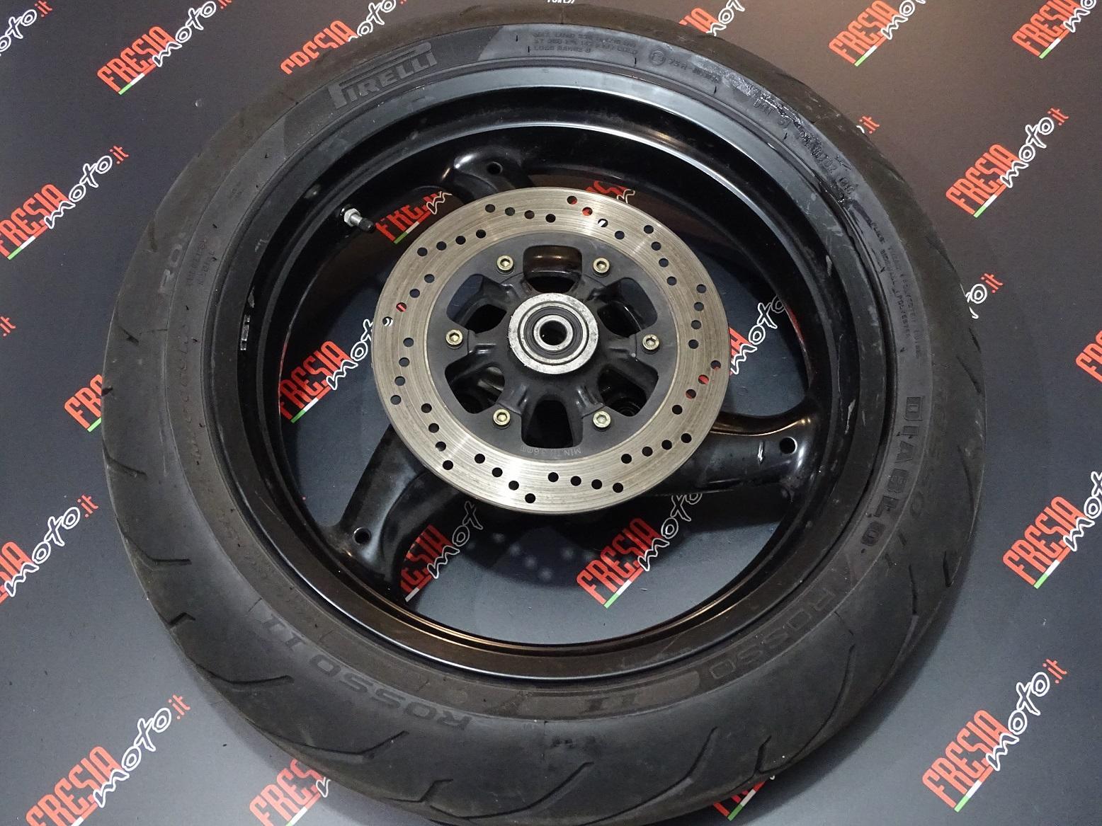 CERCHIO RUOTA POSTERIORE USATO DUCATI MONSTER 600 cc DARK ANNO 2000