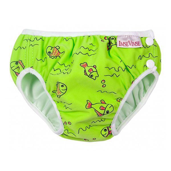 Costume contenitivo neonato - bambino per Piscina o Mare Green Fish Imse  Vimse 46a32a0ff3ee