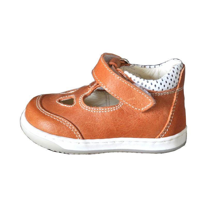 Scarpe primi passi Arancio Gioiecologiche Made in Italy