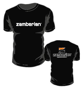 TSHIRT ZAMBERLAN® - Noir