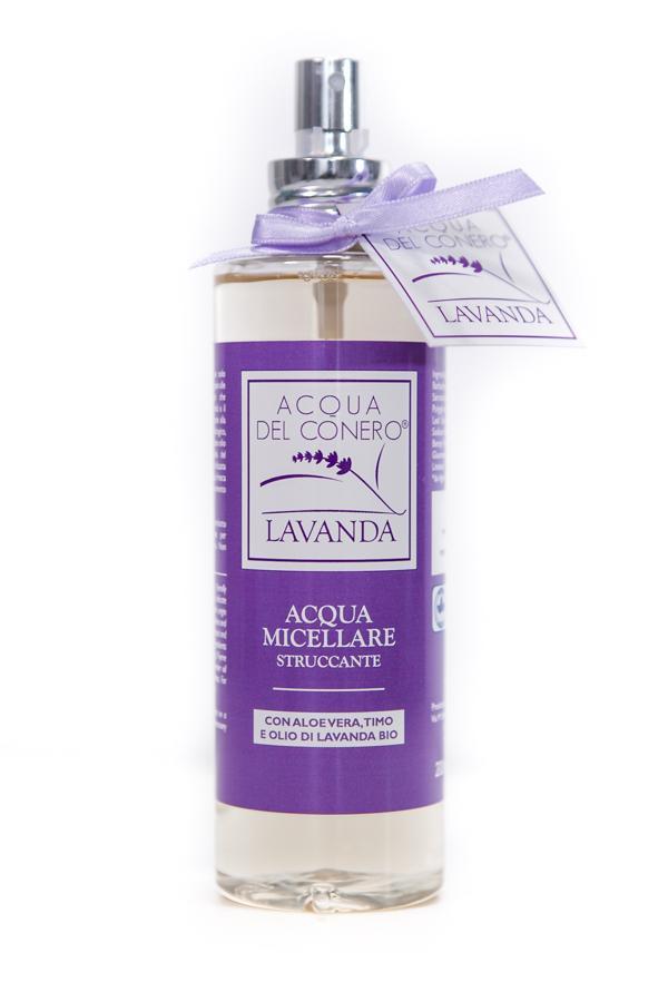 Micellar lavender water