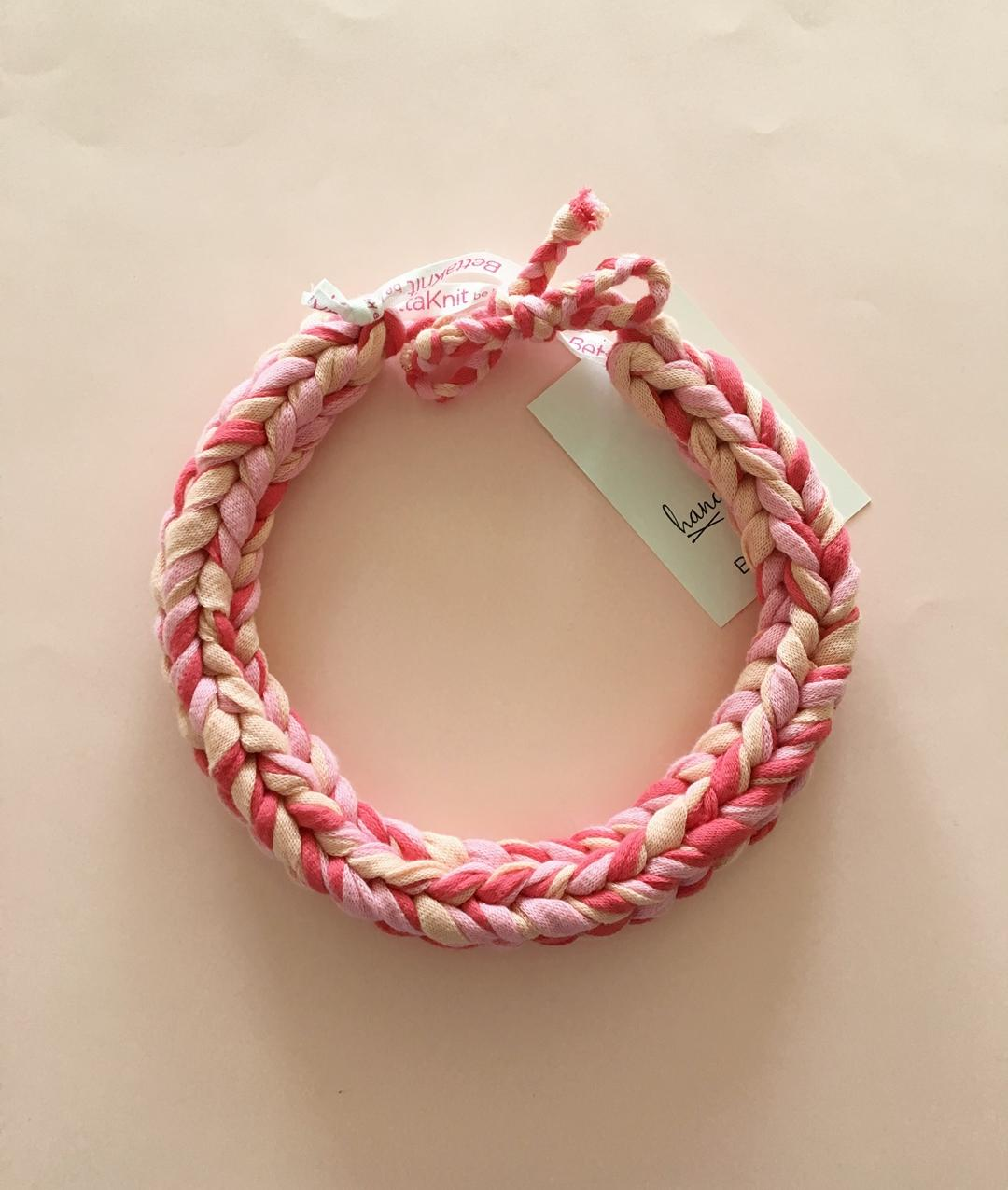 - Milan Necklace - Sfumature Rosa - 1