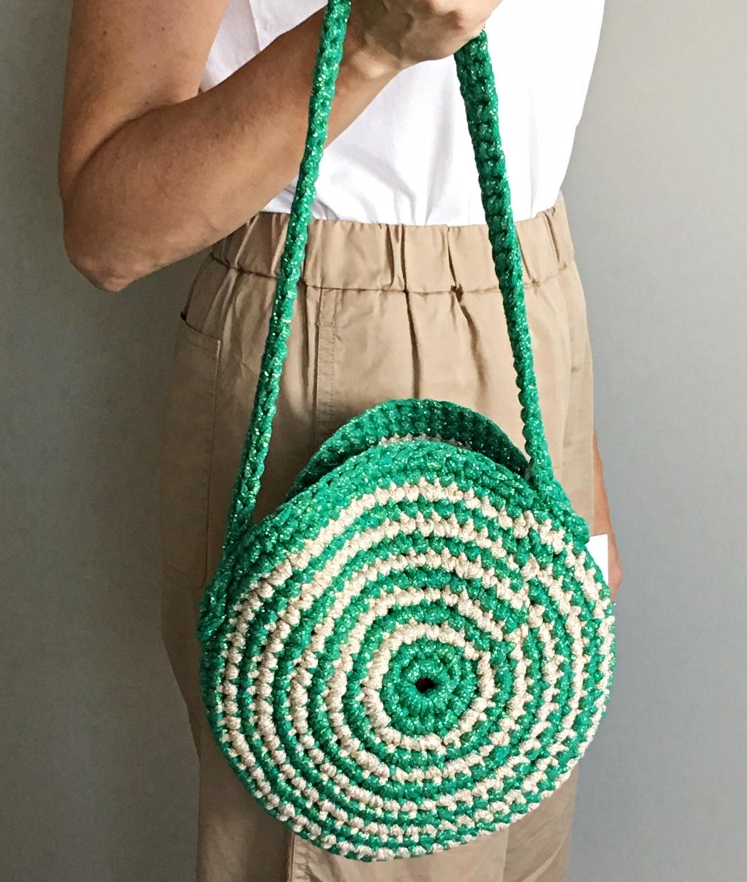 PRIVATE SALES - AROUND ME BAG - Verde/Oro Chiaro - 1