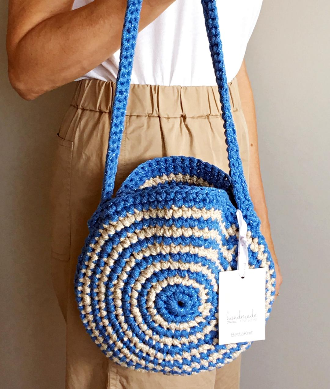 PRIVATE SALES - AROUND ME BAG - Azzurro/Oro Chiaro - 1