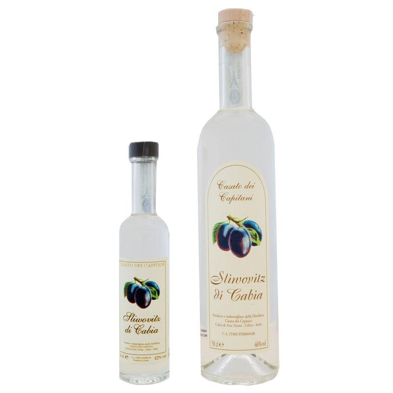 Sliwovitz Distilleria Casato dei Capitani – Cabia (Arta Terme- UD)