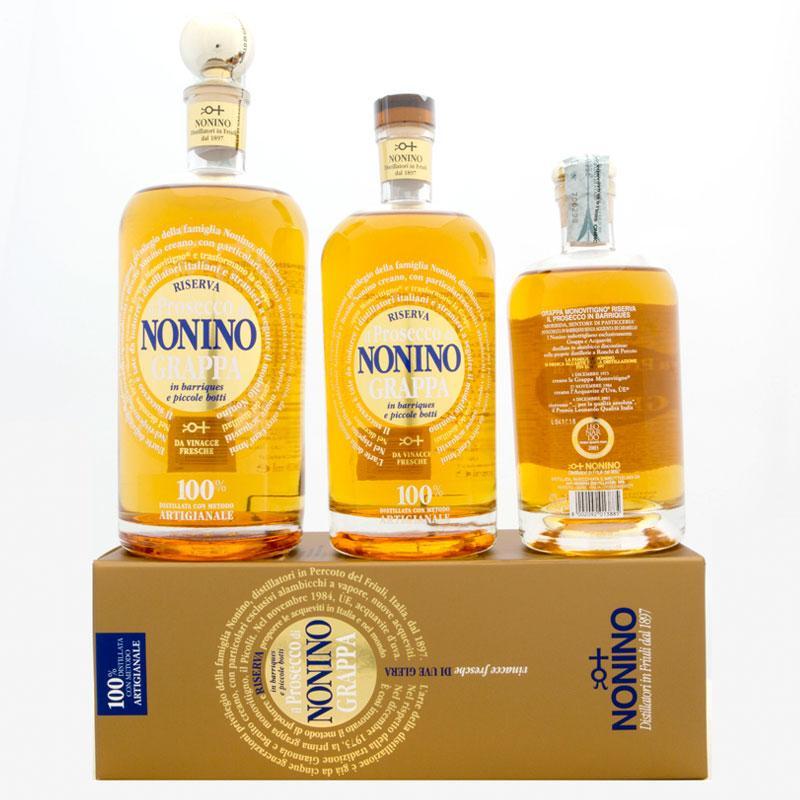 Grappa Monovitigno Il Prosecco Barrique - Distilleria Nonino – Percoto (UD)