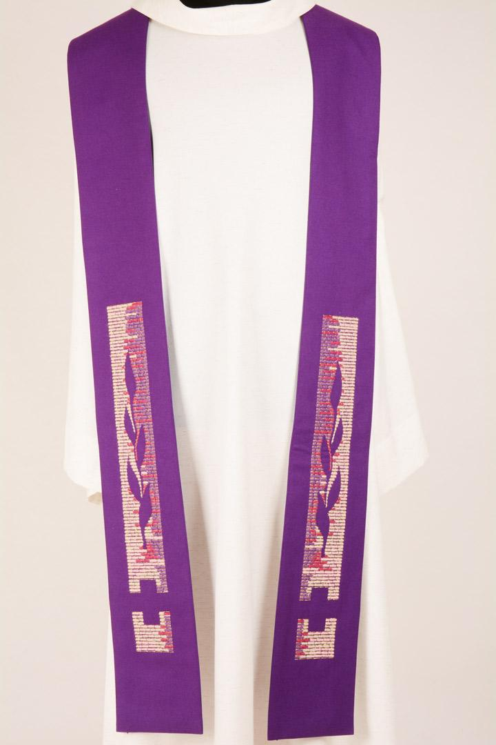 Stola S28 M1 Viola - Terital Lana