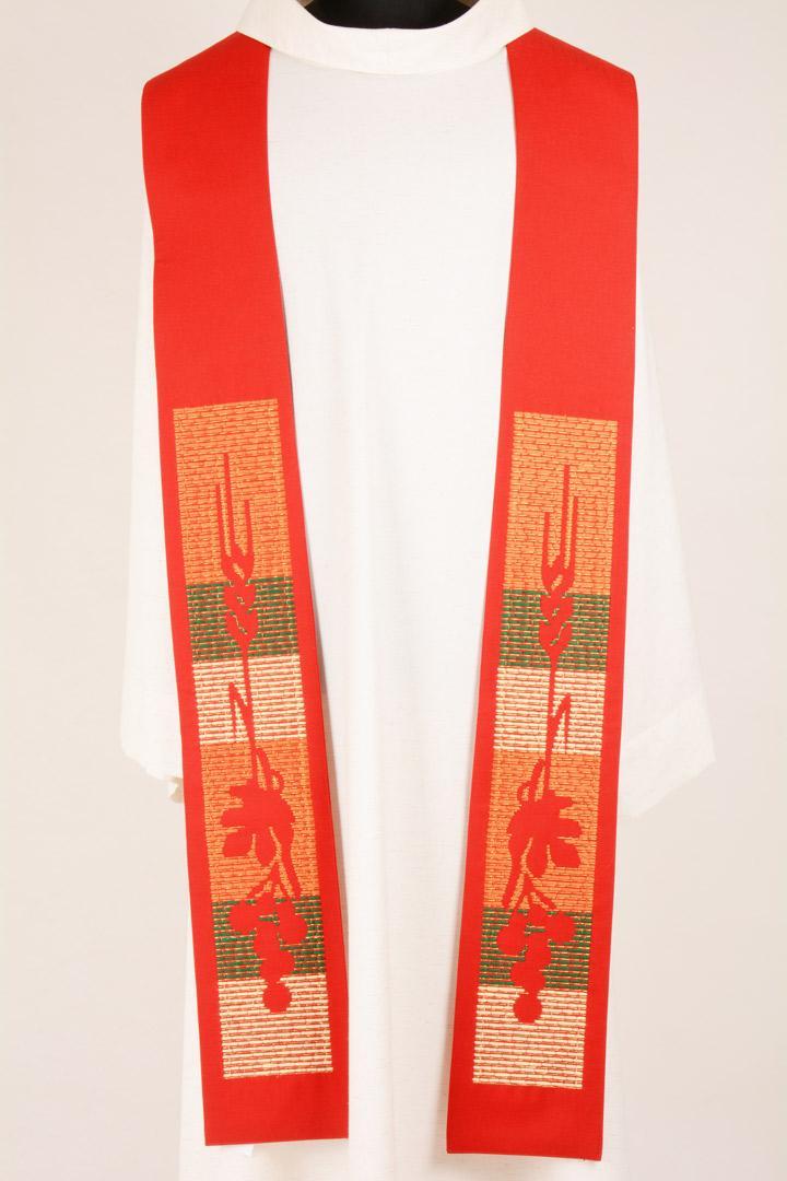 Stola S21 M1 Rossa - Misto Lana