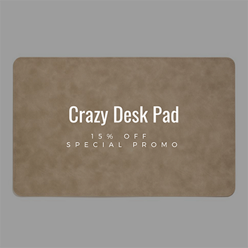 Desk Pads Crazy Collection