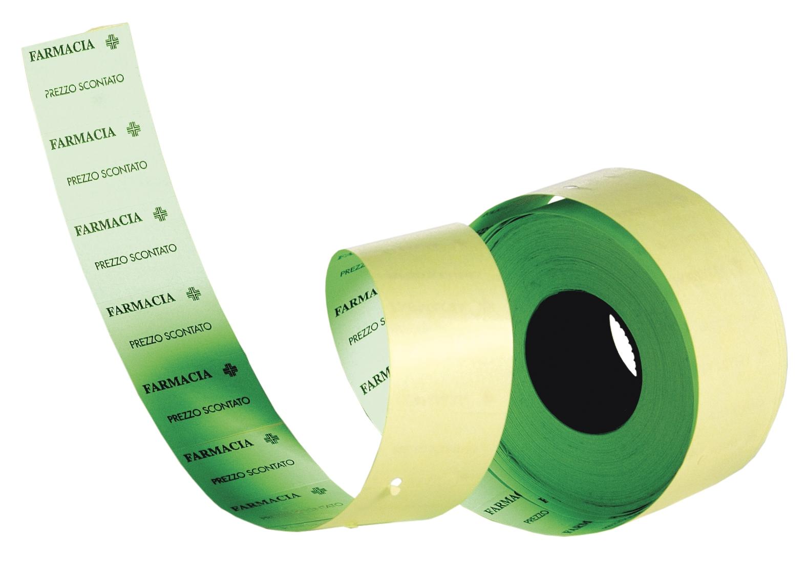 Rotolo Etichette Alfanumerica