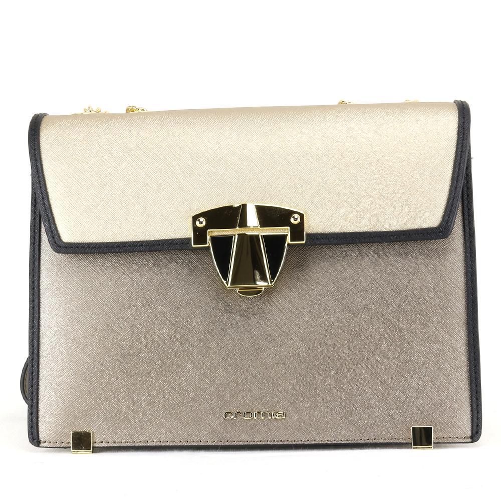 buy popular d0f76 0257d Shoulder bag Cromia ABBY 1403950 ACCIAIO | LaBorsetteria.com
