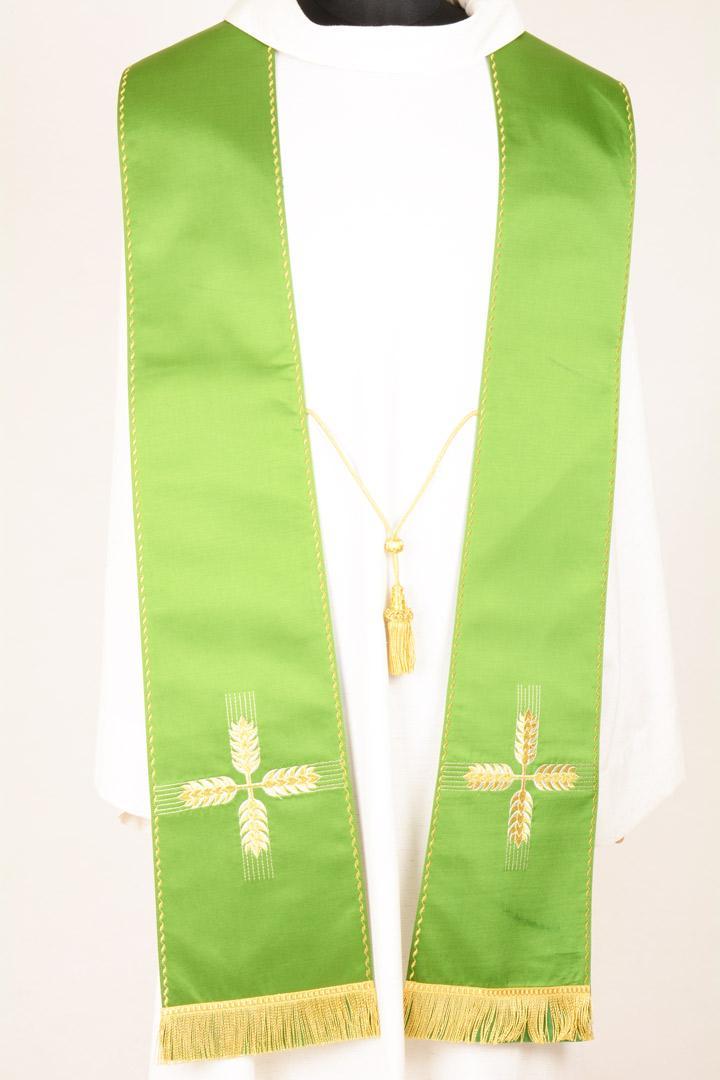 Stola S27 M0 Verde - Faille Misto Lana