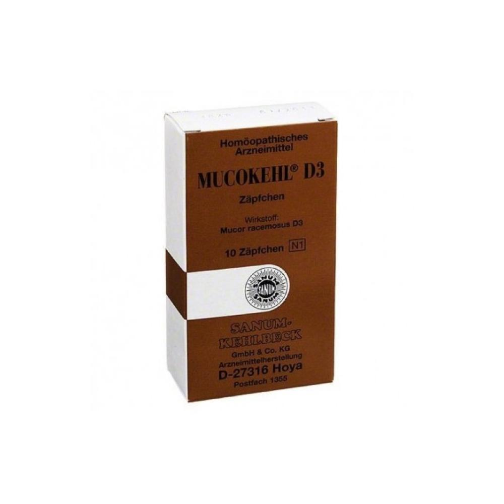 MUCOKEHL D3 - 10 SUPPOSTE OMEOPATICHE