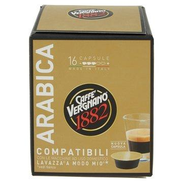 80 Capsule Caffè Vergnano Arabica - Compatibili Lavazza A Modo Mio