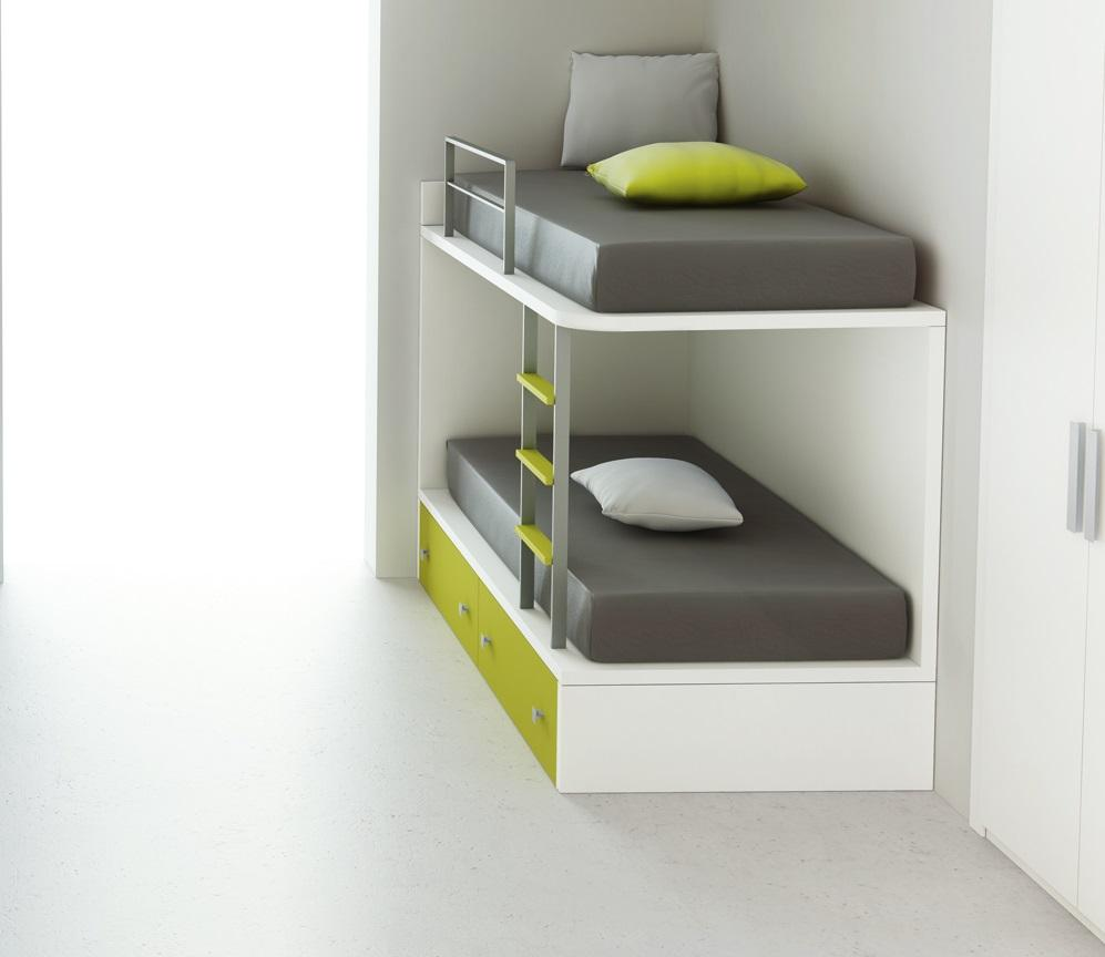 letto a castello design by Acsil