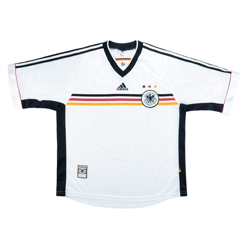 1998-00 Germania Maglia Home #8 XL
