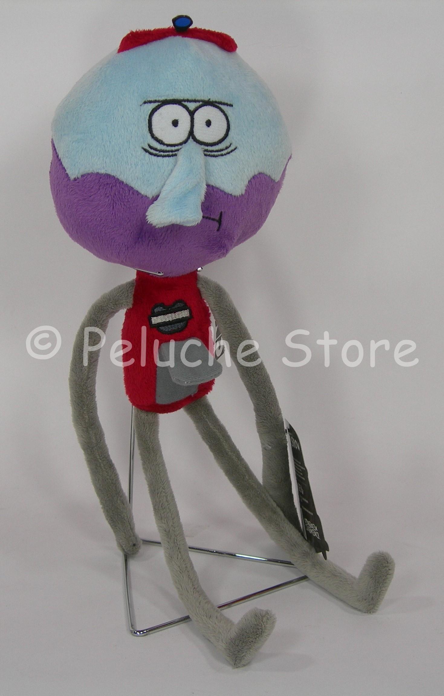 Regular Show Peluche 30 cm Mordecai Pops Rigby Benson Cartoon Network
