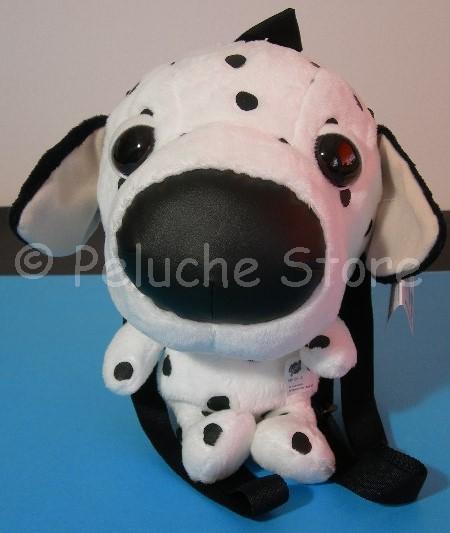 The Dog zaino peluche Velluto 35 cm Zainetto Asilo Portatutto Originale