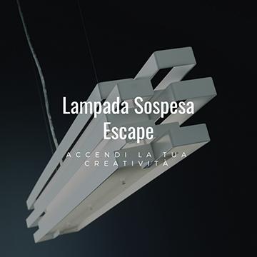 Lampada a sospensione Escape