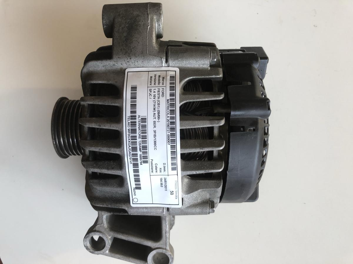 Alternatore usato originale Ford Fiesta