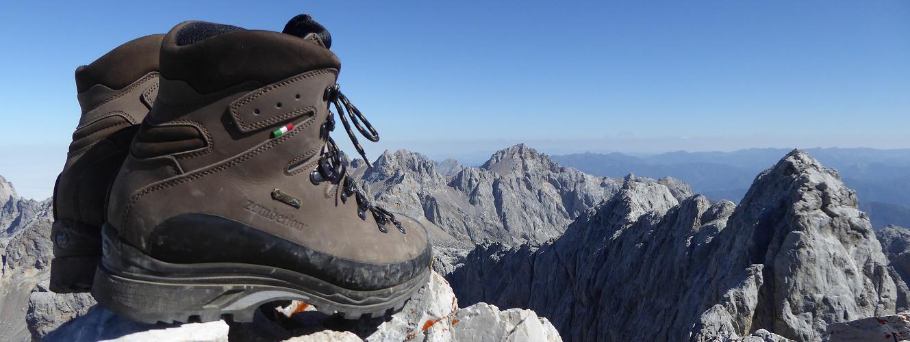 sports shoes 2ac94 dc75a 6 mosse per pulire gli scarponi da montagna correttamente ...