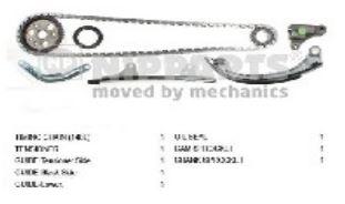Kit comando distribuzione Toyota Yaris 1,0