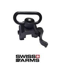 Attacco Cinghia Sgancio Rapido Swiss Arms