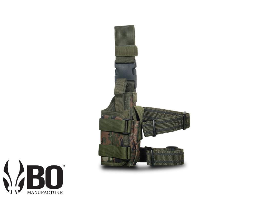 EXTREME OPS 188 TACTICAL LEG HOLSTER - WOODLAND DIGITAL