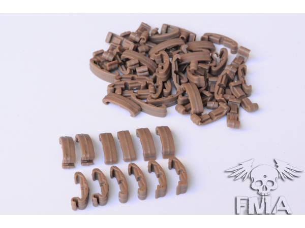 FMA Larue IndexClips, 60 Piece Set (DE)