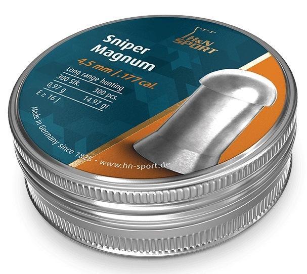 H&N DIABOLO SNIPER MAGNUM 4.50MM (300)